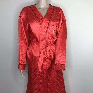 Charlie Chaplin Robe Adult Large 12-14 Red
